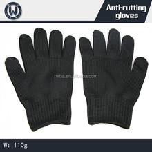 Cutting defense anti cutting stainless steel mesh working gloves