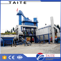 Asphalt batch plant for construction road building machine
