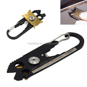 Stainless Steel Multi Functional Outdoor Survival Tool with Bottle Opener Wrenches
