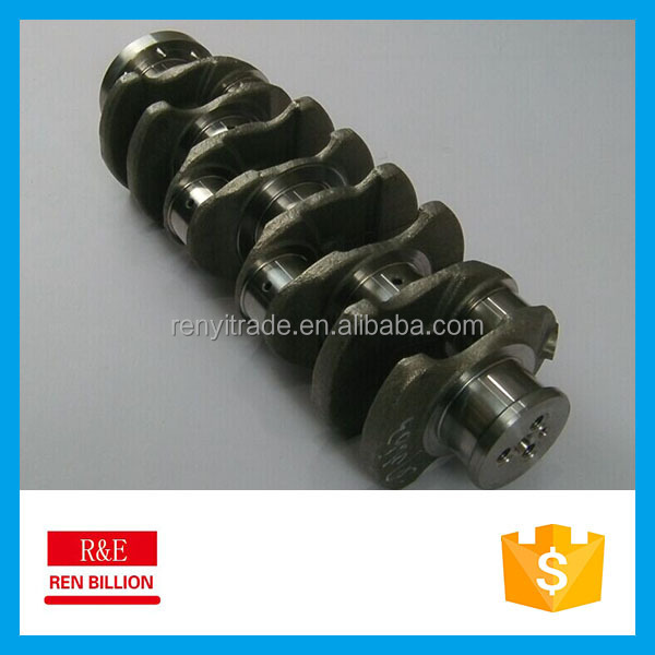 Supply JX4D22 diesel engine crankshaft for FORD used for Land rover/Jaguar