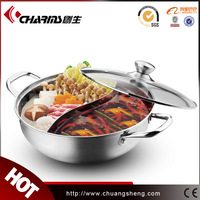 Chinese Round Roll Top Hot Pot