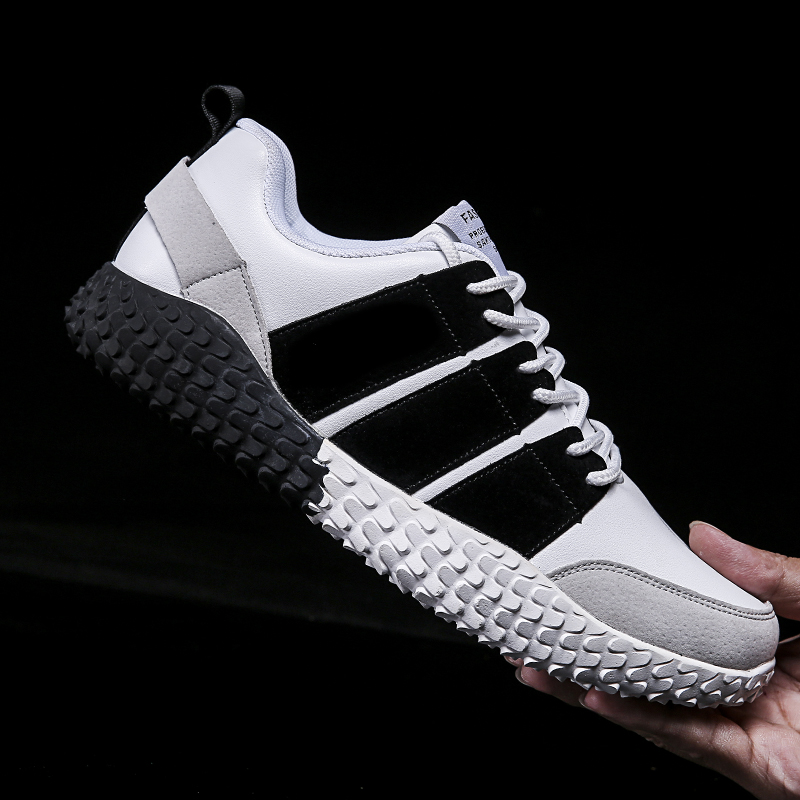 New Retail Sale Fashion Sport Shoes Knit Men Shoes and Sneakers in Stock