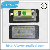 18SMD led license plate light for BMW E46 2D Coupe/E46 M3(2004~2006)