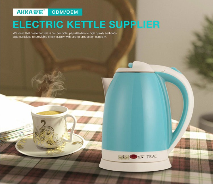 Zhanjiang 110v water electric kettle with tray cordless coffee maker