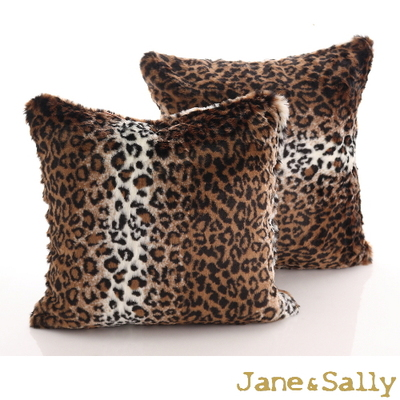 2017 new fashionLeopard covering pillow