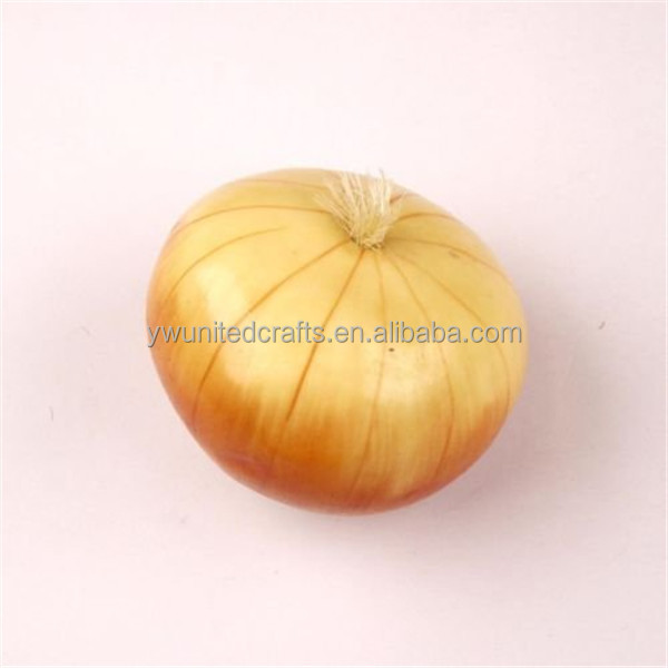 2016 China supplier artificial decorative foam fake onion for home decor
