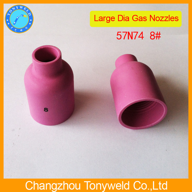 57N74 ceramic nozzle for tig welding torch
