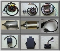 Electric parts for Lifan motorcycles,scooters,moped,off road