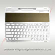 Integrated solar panels solor Bluetooth keyboards for ipad 2/3/4