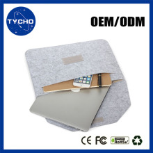 Fabric Sleeves For Macbook Laptop OEM Wool Felt For Apple Laptop Super Thin Sleeve For Macbook