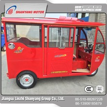 High quality wholesale fashion enclosed 150cc passenger tricycle 3 wheel disabled vehicle