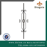 Ornamental Wrought Iron Used on Fencing, Guardrail for Sale