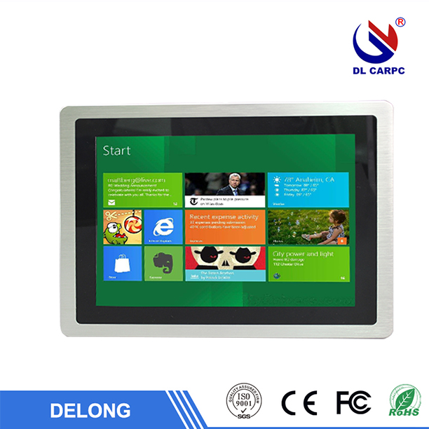 22'' lcd 5 wire resistive touchscreen monitor with VGA port