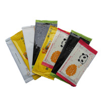 Disposable single pack cleaning spunlace alcohol wet wipes/tissues/towel wholesale manufacturer/new/OEM