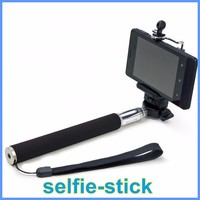 Best products for import colorfull Z07-1 cellphone monopod selfie stick +clip holder