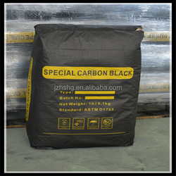 Pigment carbon black for water paste