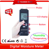 Wholesale cheap electronic wood/building material moisture meter temperature detector TL-700