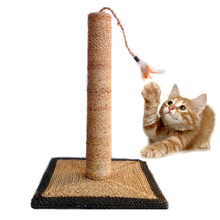 Bleach sisal rope play house hemp rope wholesale cat tree scratching post