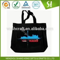 Top quality custom printing canvas tote bag/promotion 100 cotton canvas bag wholesale