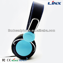 stereo color headphone with mic and volume control 3.5mm headphone jack to pcb