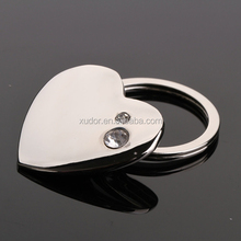 PROMOTIONAL BRANDED DIAMOND ORIGINAL REFLECTIVE HEART KEY CHAIN