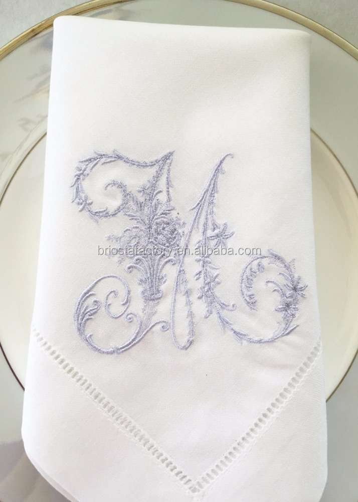 Wholesale Personality Embroidered Linen Napkins