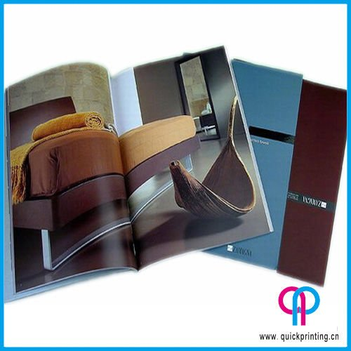 Brochure and catalog printing service