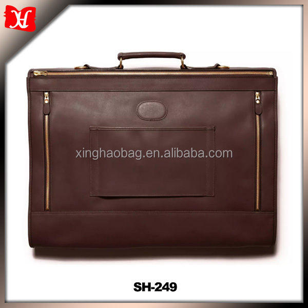 Business Garment Bag Cover for Suits and Dresses Clothing Foldable with Pockets