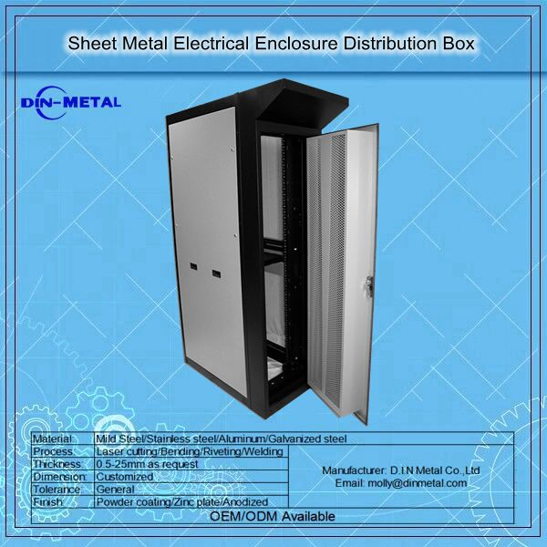 Floor Stand Waterproof Electrical Cabinet/Metal Enclosure/Steel Box Manufacture