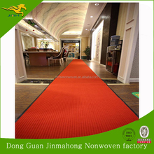 Rubber backed qualified waterproof indoor outdoor commercial carpet