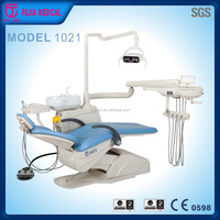 Special functions dental chair unit hot selling dental unit in China with 2 sets 3 way syringes