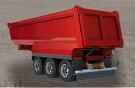 Tipping Semi-Trailers - Hardox