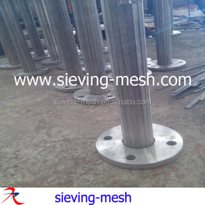 Stainless steel Johnson screen water filter/ss Johnson deep well pipe factory