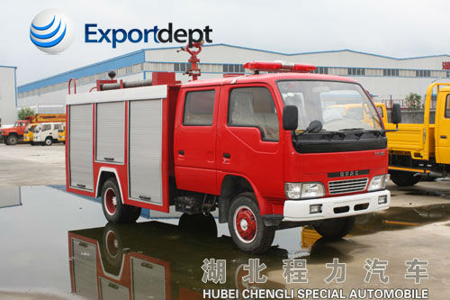 DONGFENG XBW stype fire vehicle, 95Hp small fire control truck