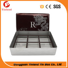 Tin Containter Wholesale Cookie Tin Box With Inserts