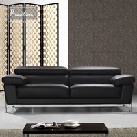hotel furniture supplier genuine leather sofa set