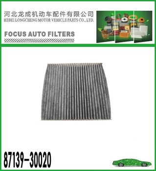 ACTIVE CARBON FILTER 87139-30020 FOR TOYOTA CAR