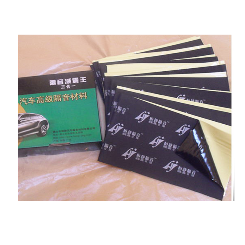 Car shock proof and sound deadening butyl rubber sheets