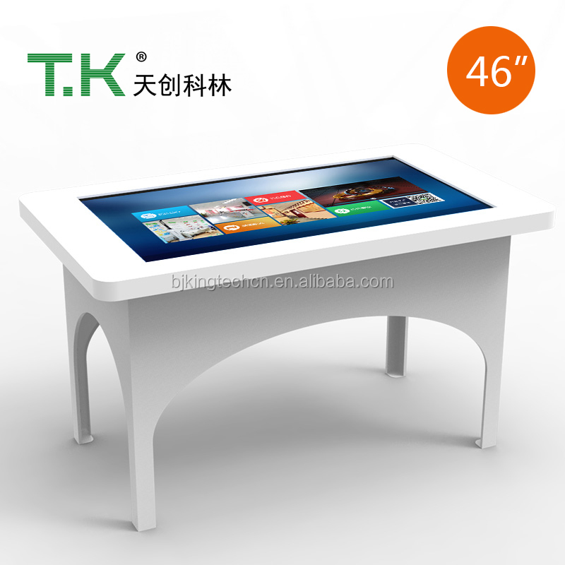 "TK-MEC70-46""Waterproof Standard Design LCD Touch Screen Tea Table Office Table"