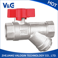 Professional cheap durable manual water ball valve parts