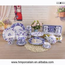 Alibaba China suppliers ceramic dinnerware sets plates mug fine bone china floral dinner sets