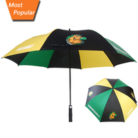 cow print golf umbrella