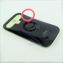PC + Silicone Luminous Protector tpu pc case for samsung galaxy s4 i9500 P-SAMI9500HCSO020