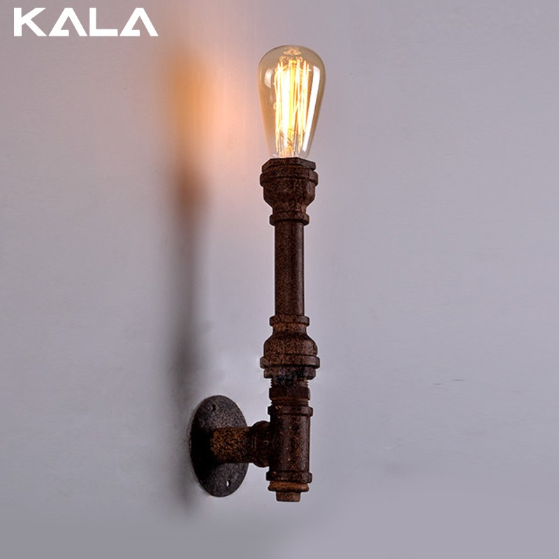 Guzhen American Europe type restoring ancient ways the Nordic bar clothing store restaurant industrial square window wall lamp