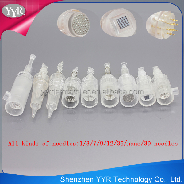 YYR Professional derma skin pen micro needle cartridge supplier