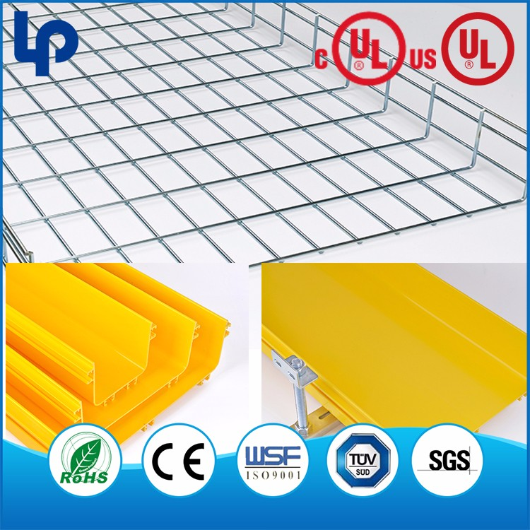 hot dipped galvanized electric wire mesh cable trays , wire mesh cable tray for indoor