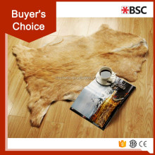 Hot sale sheep skin price/ goat skin for home decoration