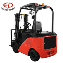Insulated battery cover gas-filled cylinders and easy to maintain EP Construction Machine Electric Forklift Truck for sale 2T 2.