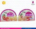 custom printing snack food packaging special shaped pouch