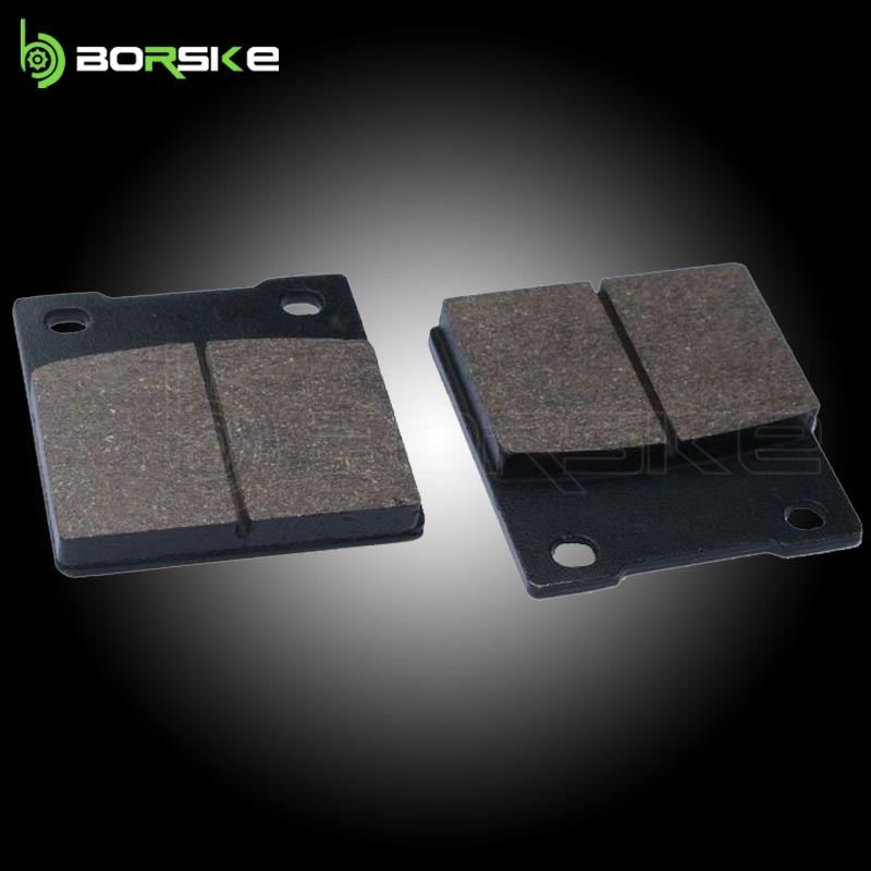 Good quality for KAWASAKI &SUZUKI&HYOSUNG motorcycle brake pad with best brake pad raw material from China factory